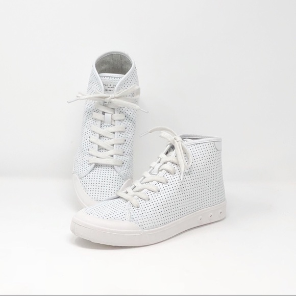 eb8fd611bd Rag & Bone | Standard Issue White Leather Sneakers NWT